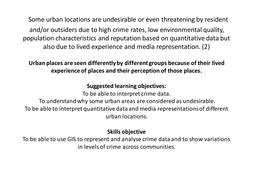 EQ2 Diverse places Edexcel A level by Megan1989a | Teaching Resources