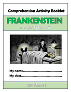 Frankenstein Comprehension Activities Booklet!