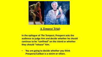 what is the relationship between prospero and caliban