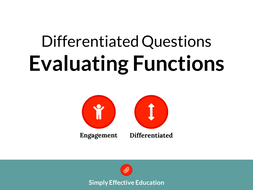 Evaluating-Functions-(Differentiated-Questions).pdf