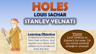 holes stanley yelnats by tandlguru teaching resources tes