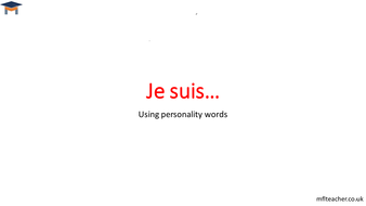 french adjectives to describe personality by themflteacher