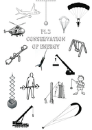 GCSE AQA P1.2 Conservation of energy work book NEW SPEC by