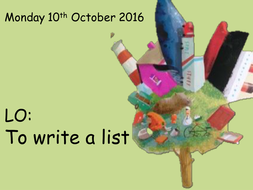 stuck-writing-a-list.ppt