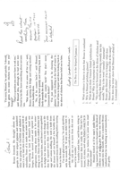 The Boy in the Striped Pyjamas comprehension worksheets
