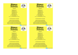 History websites for History revision bookmark