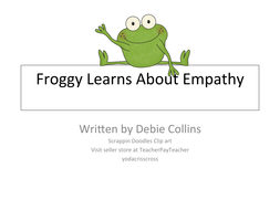 Caring and friendship story/ empathy