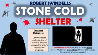 stone cold robert swindells characters
