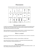 Punctuation - commas (ideal for NAPLAN, tutoring and homework tasks)