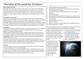 2---The-value-of-the-world-Christianity-worksheet.docx