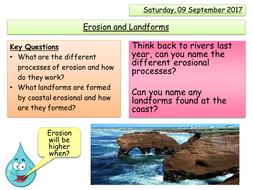Erosional Landforms - Coasts