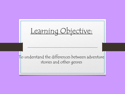 What is the genre? PPT presentation for lesson intro