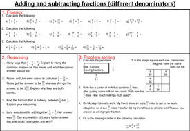 adding subtracting multiplying and dividing fractions mastery worksheets - Adding Subtracting Multiplying And Dividing Fractions Worksheet