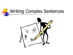 Writing-Complex-Sentences-WB-Sept-22.ppt