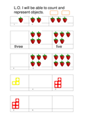 Year 1 White Rose counting objects and numicon