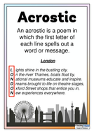 Types of Poems - Classroom Display Posters