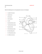 Heart anatomy diagrams and quiz by scienceisland teaching 6 heart quiz basic answer keycx ccuart Choice Image