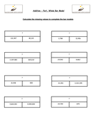 addition and subtraction y6 bar modelling by mathsteryeducation teaching resources. Black Bedroom Furniture Sets. Home Design Ideas
