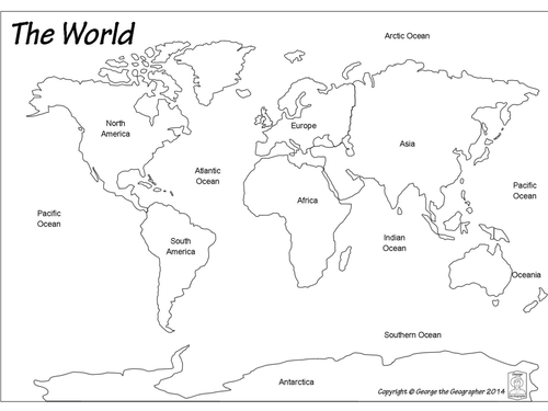 Hot and cold parts of the world continents and oceans ks1 hot and cold parts of the world continents and oceans ks1 geography pack by klmortimore1 teaching resources tes gumiabroncs Image collections