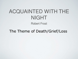 acquainted with the night theme