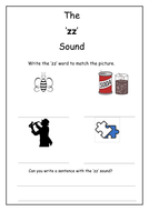 Phonics: zz sound worksheet by Laurenstuart - Teaching Resources - Tes