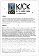 Kick by Mitch Johnson – Teacher's notes
