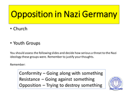youth opposition to the nazis