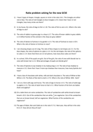 Ratio problem solving for 9 1 GCSE with answers by ascj20   Teaching together with Ratio Problems Worksheet Answer Key   Gesundheit365 together with Tape Diagram Worksheets   Free    monCoreSheets also Geometry Ratios And Proportions Worksheet Answers The best besides Ratios  rates    percentages   6th grade   Math   Khan Academy further Ratio Word Problems together with Equivalent ratio word problems  practice    Khan Academy moreover Ratio Word Problems in addition  also  in addition rate word   Kasare annafora co furthermore Free worksheets for ratio word problems together with  also  as well Ratio Worksheets   Ratio Worksheets for Teachers as well Ratio Problems Worksheet The best worksheets image collection. on ration problems worksheet with answers