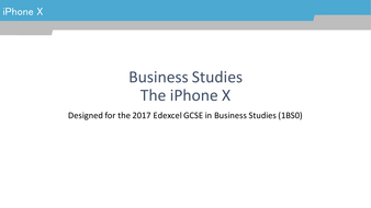 iPhoneXBusinessStudies.pptx