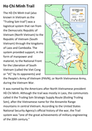 The Ho Chi Minh Trail Handout