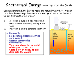 Energy resources - complete lesson (KS3)