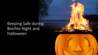 keeping safe over halloween and bonfire night powerpoint