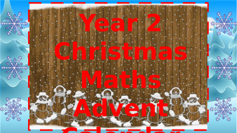 Year-2-Christmas-Maths-Challenges-advent-calendar-v3---Click-Read-Only-to-open.pptx