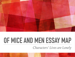 Thesis Statement Examples For Essays Steinbeck Of Mice And Men Essay Maps Loneliness And Pitifulness Best English Essay also Thesis Examples For Argumentative Essays Steinbeck Of Mice And Men Essay Maps Loneliness And Pitifulness By  How To Write An Essay In High School