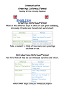 Greetings formal and informal english as a second language by greetings formal and informal english as a second language m4hsunfo