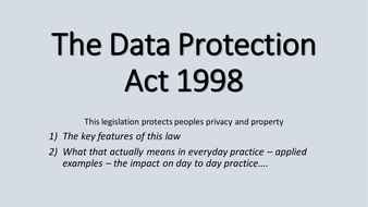 The-Data-Protection-Act-1998.pptx