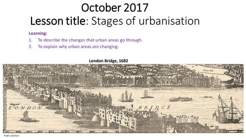Stages of urbanisation