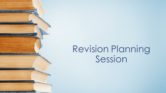 Revision Timetable Planning Tools (GCSE or A Level)