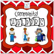 Community Helpers Theme for Preschool and Kindergarten