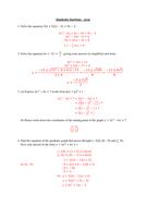 Quadratic-functions---prep-(solutions).docx