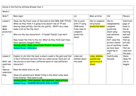 Guided Reading Planning Resources Voices In The Park border=