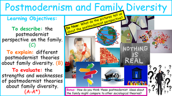 as sociology family postmodernism and family diversity by