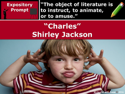 analysis of charles by shirley jackson