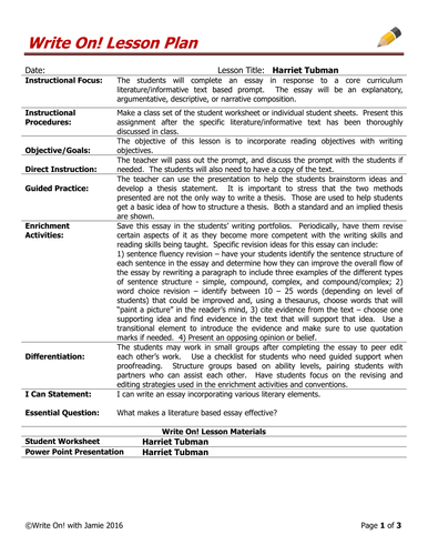Pmr English Essay Harriet Tubman Conductor Underground Railroad By Ann Petry  Text Evidence  Expository Writing By Morgenstern  Teaching Resources  Tes Argumentative Essay Thesis also Health And Social Care Essays Harriet Tubman Conductor Underground Railroad By Ann Petry  Text  Essay About Healthy Food
