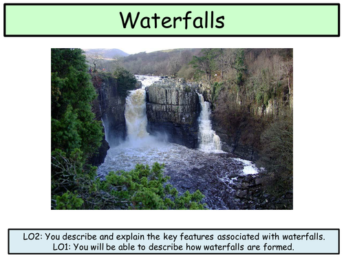 How do waterfalls form bbc bitesize best waterfall 2017 labelled diagram of a spit gcse coastal landscapes ccuart Choice Image