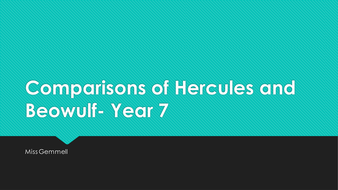 Comparisons-of-Hercules-and-Beowulf--Year-7.pptx