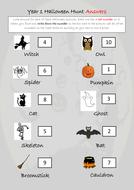 Halloween Hunt! Fun Halloween activity for KS1
