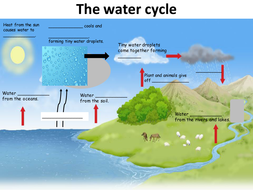 Water cycle slides and worksheet by avnishah88 teaching the water cycle ppt slidespptx ibookread ePUb