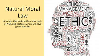 moral lecture for students
