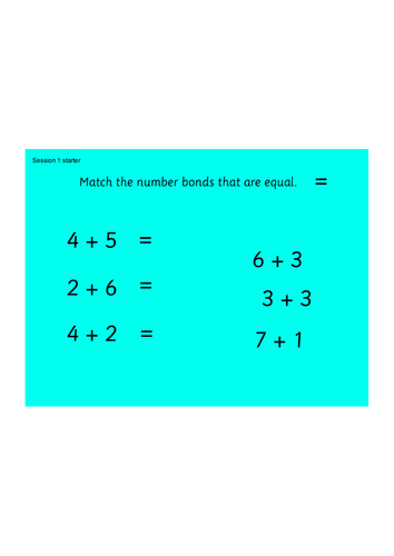 Y1 planning and resources for White Rose Maths Block 2 Addition and ...